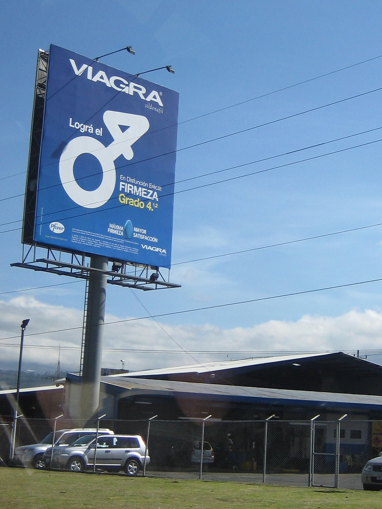 Viagra billboard