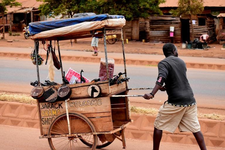 Africa Tanzania Street Vendor Shop People
