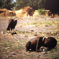 The Child and the Vulture (Pulitzer Prize winning Photo)
