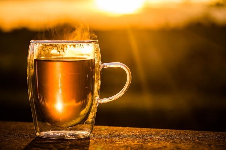 Hot Steam Teacup Cup Of Tea Tee Drink