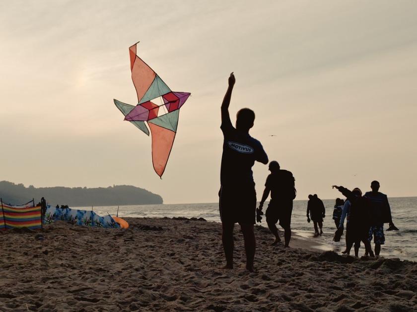 Boy with a kite