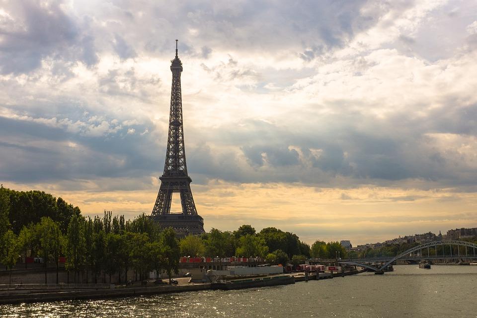 Tower Landmark Eiffel Tower France Paris Eiffel